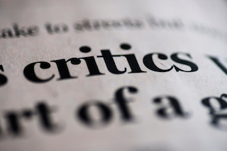 Protecting Yourself from the Criticism